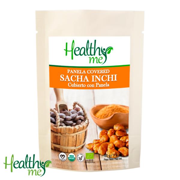 sacha inchi, sacha inchi con chocolate, chocolate 70%, snack, healthy me, no gmo, no gluten, vegano, vegan, sin gluten, gluten, orgánico, natural, saludable