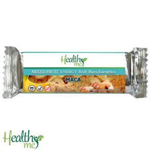 barra energética, energética, healthy me, fruta, fruta mixta, maca, orgánico, natural, no gmo, vegano, no gluten