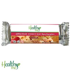 barra energética, energética, healthy me, manzana, linaza, maca, orgánico, natural, no gmo, vegano, no gluten