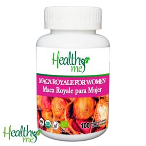 Maca, Maca Royale, Maca Royale Mujer, healthy me, salud, organico, natural, cápsulas